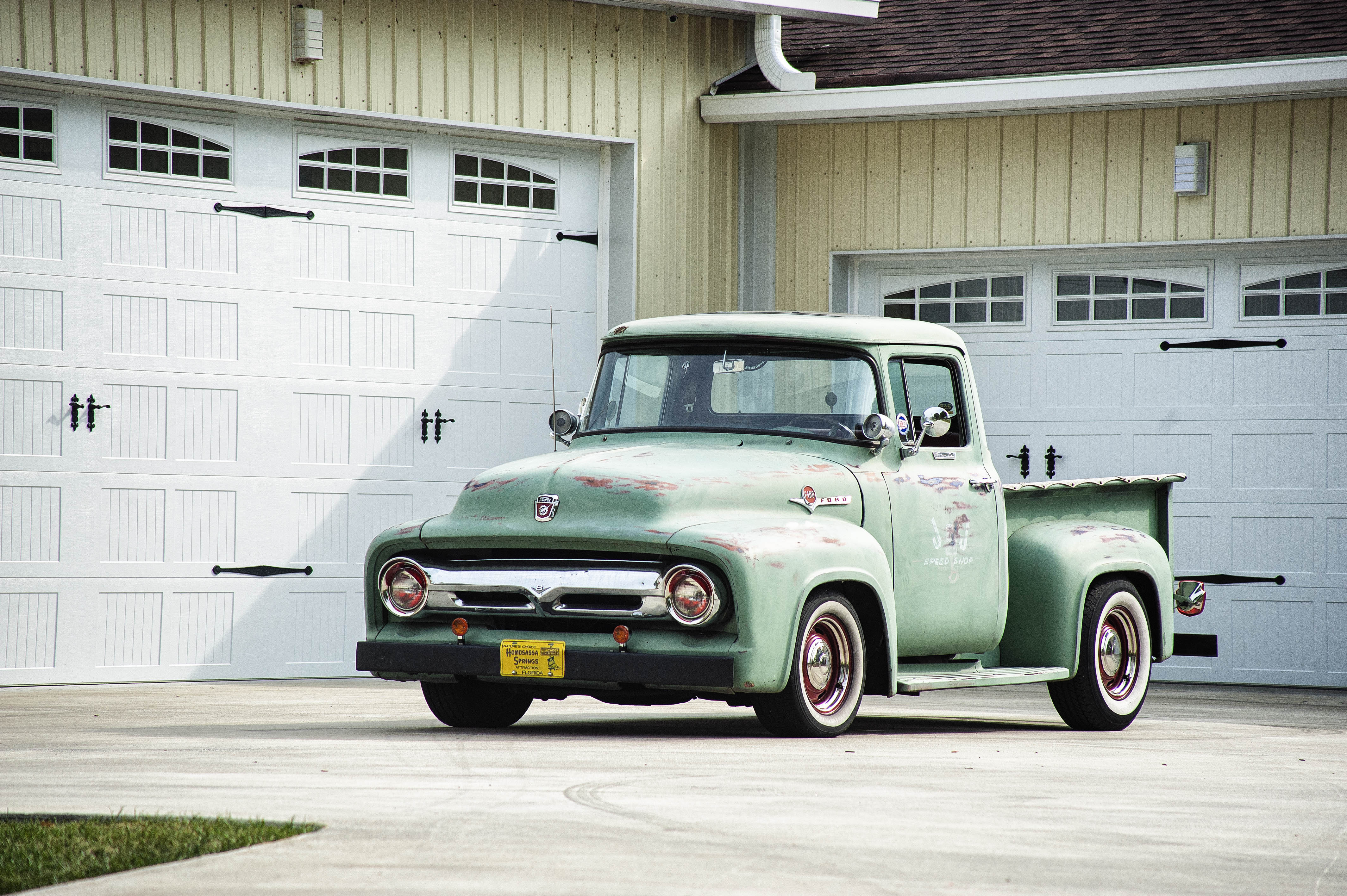 1956 ford f100 rat truck southern indiana classics
